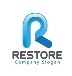 Restore Logo vector