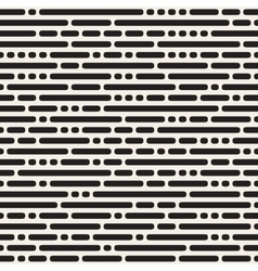 Seamless Black and White Irregular Rounded vector image
