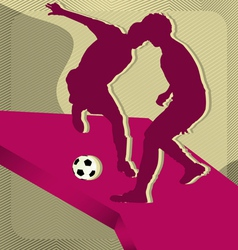 sport background soccer vector image vector image