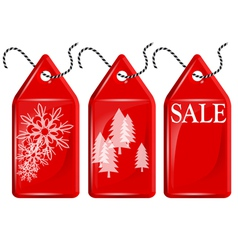 Christmas shopping vector image vector image