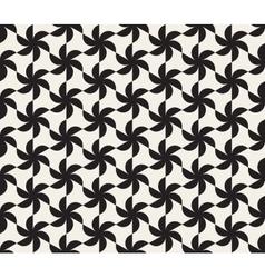 Seamless Black and White Triangular Lattice vector image