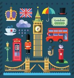 Great Britain Kingdom vector image