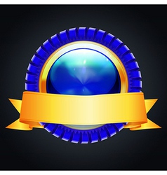 winning seal icon vector image