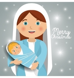 Christmas cartoon graphic vector image