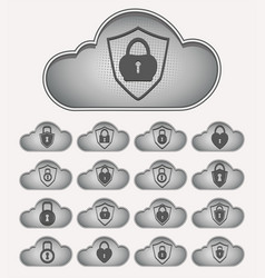 Computer cloud with lock set vector