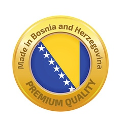 Made in Bosnia and Herzegovina logo vector
