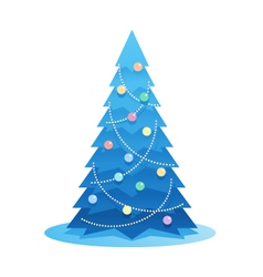 New Year Tree vector