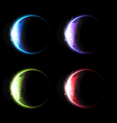 Planets set vector