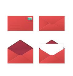 set envelopes vector image