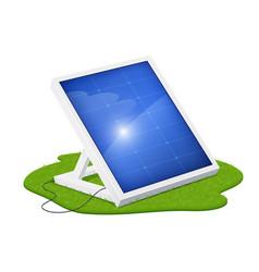solar panel for alternative vector image