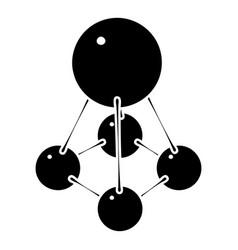nitromethane icon simple style vector image