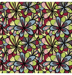 abstract background of petal and wave vector image