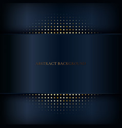 Abstract dark blue stripe background with shadow vector