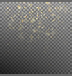 abstract gold bokeh background eps 10 vector image