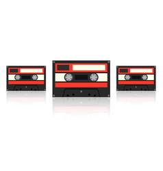 audiocassette vector image