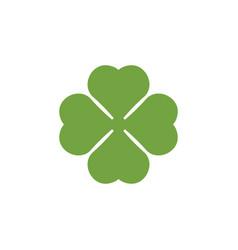 clover leaf clip art graphic design template vector image