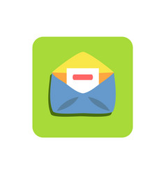 Email mobile icon vector