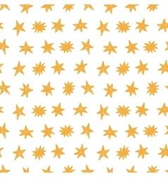 Hand Drawn Stars Modern Seamless Pattern vector image