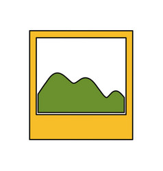 Photo of landscape vector