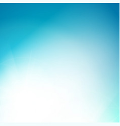 shining blue background vector image