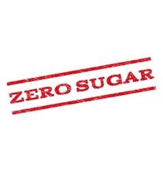 Zero Sugar Watermark Stamp vector