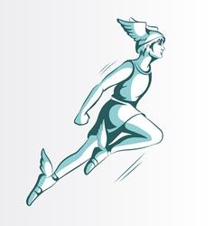 Hermes vector image vector image