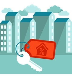 mortgage vector image