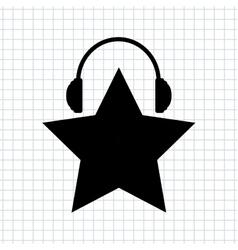 Music Awards design vector image