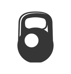 Weight Icon on White Background vector image