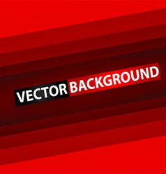 Abstract red rectangle paper background vector