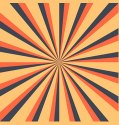 abstract sunburst or sunbeams blank background vector image