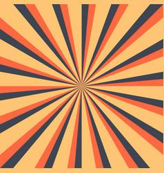 Abstract sunburst or sunbeams blank background vector