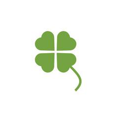 Clover leaf clip art graphic design template vector