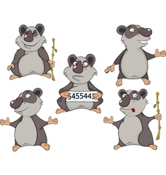 Panda clip art cartoon vector image