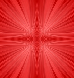 Red mirror symmetric ray background vector