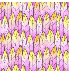 Seamless Background Feather Pattern vector