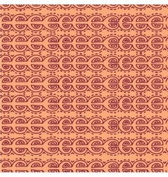 Seamless pink ethnic pattern vector