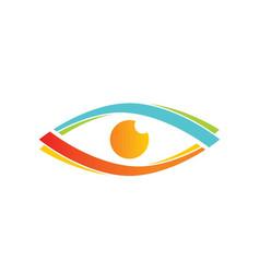 eyecare logo vector image vector image