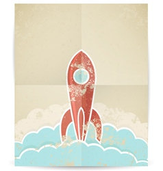 Rocket 10 vector image
