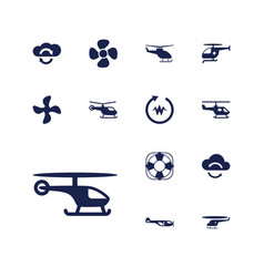 13 rotate icons vector