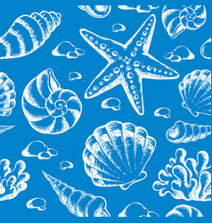beach theme seamless background 2 vector image