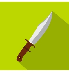 Dagger icon flat style vector
