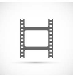film strip icon vector image