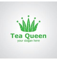tea queen vector image
