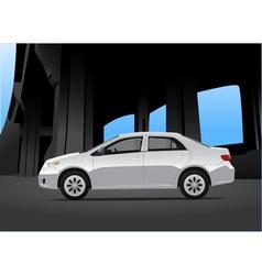 City car vector image