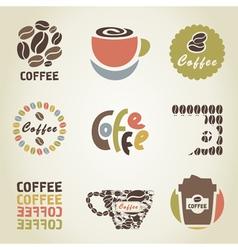 Coffee icon4 vector image vector image