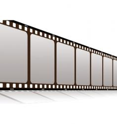 film along vector image vector image