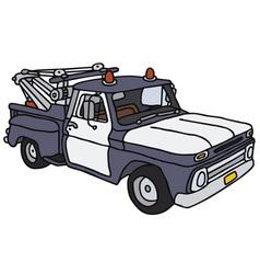 Breakdown service car vector image