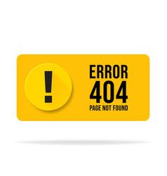 404 error page not found speech pop up errors vector