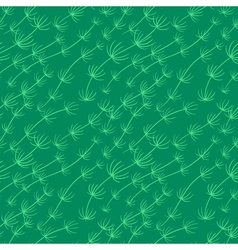 Algae seamless pattern vector